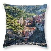 Manarola  0562 Throw Pillow