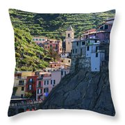 Manarola  0565 Throw Pillow