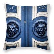 Manchester Doorway Throw Pillow
