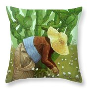 Mandacaru Throw Pillow