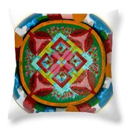 Mandala - 2009 Throw Pillow