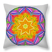 Mandala 12 20 2015 Throw Pillow