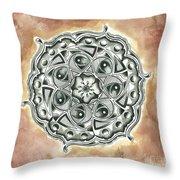 Mandala #3 Throw Pillow