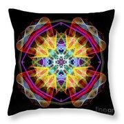 Mandala 3309a Throw Pillow