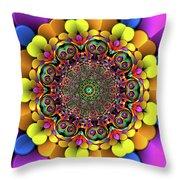 Mandala 46756767856 Throw Pillow