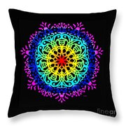 Mandala 7 Throw Pillow