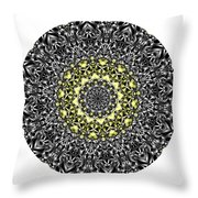 Mandala - Amulet 866 For Those Born In ..... Throw Pillow
