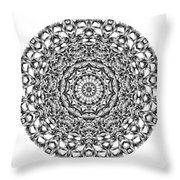 Mandala - Amulet 867 For Those Born In ..... Throw Pillow