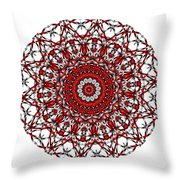 Mandala - Amulet 868 For Those Born In ..... Throw Pillow