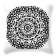 Mandala - Amulet 871 For Those Born In ..... Throw Pillow