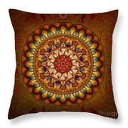 Mandala Ararat Throw Pillow