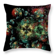 Mandala Color Dreams Throw Pillow