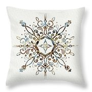 Mandala Earth And Water 3 Throw Pillow