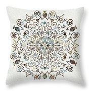 Mandala Earth And Water 4 Throw Pillow