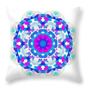 Mandala Image #7 Created On 2.26.2018 Throw Pillow