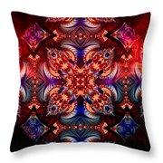 Mandala Magic Throw Pillow