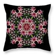 Mandala Monadala  Lisa Throw Pillow