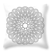 Mandala No 2 Throw Pillow