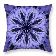 Mandala Ocean Wave Throw Pillow