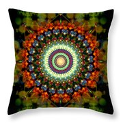 Mandala Of Loves Journey Throw Pillow