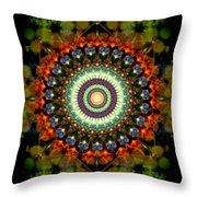 Mandala Of Loves Journey Throw Pillow
