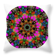 Mandala - Talisman 1099 - Order Your Talisman. Throw Pillow
