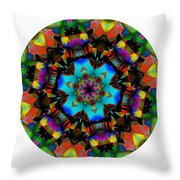 Mandala - Talisman 1101 - Order Your Talisman. Throw Pillow