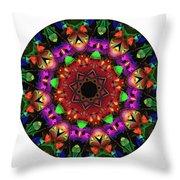 Mandala - Talisman 1102 - Order Your Talisman. Throw Pillow