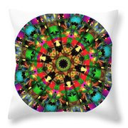Mandala - Talisman 1104 - Order Your Talisman. Throw Pillow