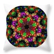 Mandala - Talisman 1105 - Order Your Talisman. Throw Pillow