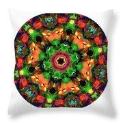 Mandala - Talisman 1106 - Order Your Talisman. Throw Pillow