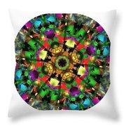 Mandala - Talisman 1108 - Order Your Talisman. Throw Pillow