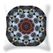 Mandala - Talisman 1111 - Order Your Talisman. Throw Pillow