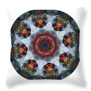 Mandala - Talisman 1112 - Order Your Talisman. Throw Pillow