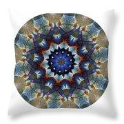 Mandala - Talisman 1120 - Order Your Talisman. Throw Pillow