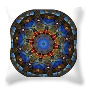 Mandala - Talisman 1122 - Order Your Talisman. Throw Pillow