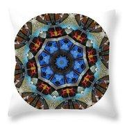 Mandala - Talisman 1124 - Order Your Talisman. Throw Pillow