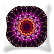 Mandala - Talisman 1383 Throw Pillow