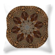 Mandala - Talisman 1384 Throw Pillow