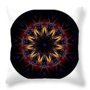 Mandala - Talisman 1389 Throw Pillow