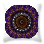 Mandala - Talisman 1398 Throw Pillow