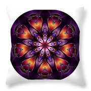 Mandala - Talisman 1432 Throw Pillow