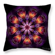 Mandala - Talisman 1433 Throw Pillow