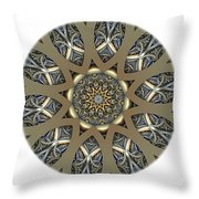 Mandala - Talisman 1434 Throw Pillow