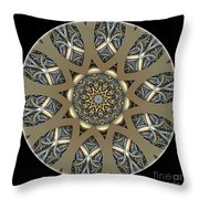 Mandala - Talisman 1435 Throw Pillow