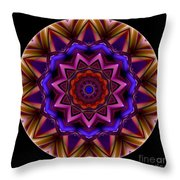 Mandala - Talisman 1439 Throw Pillow