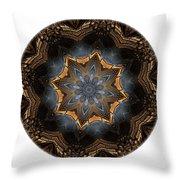 Mandala - Talisman 1444 Throw Pillow
