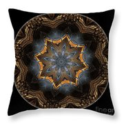 Mandala - Talisman 1445 Throw Pillow