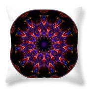 Mandala - Talisman 1448 Throw Pillow