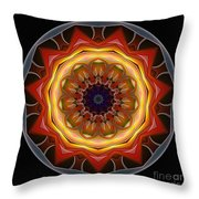 Mandala - Talisman 1452 Throw Pillow